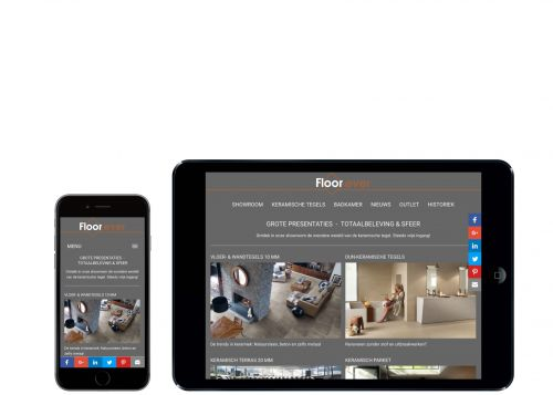 Floorever op mobiele toestellen